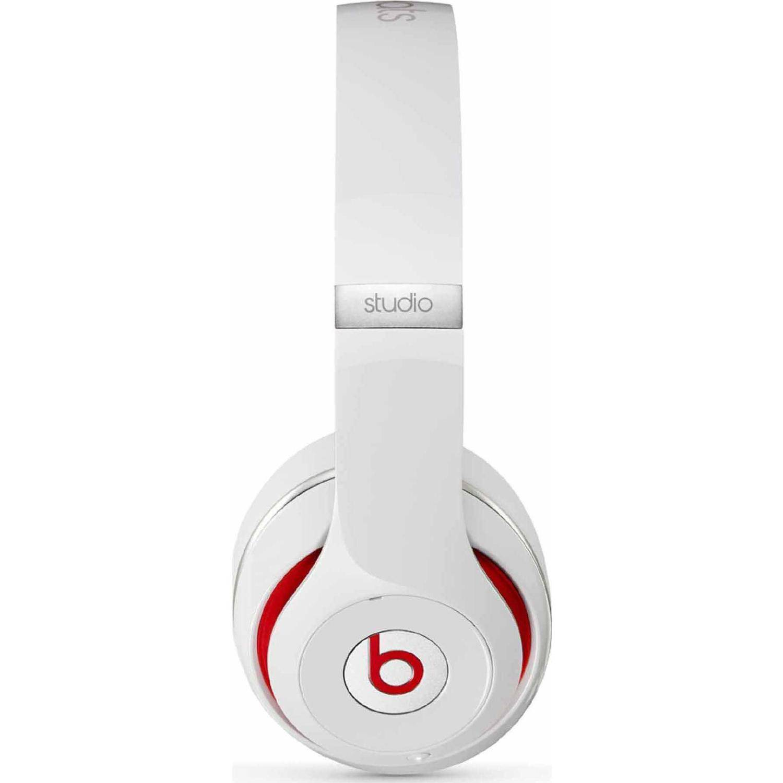 Refurbished Beats By Dr Dre Studio 20 Over Ear Headphones Merciie Headphone Wireless Bluetooth Beat Drdre White 2
